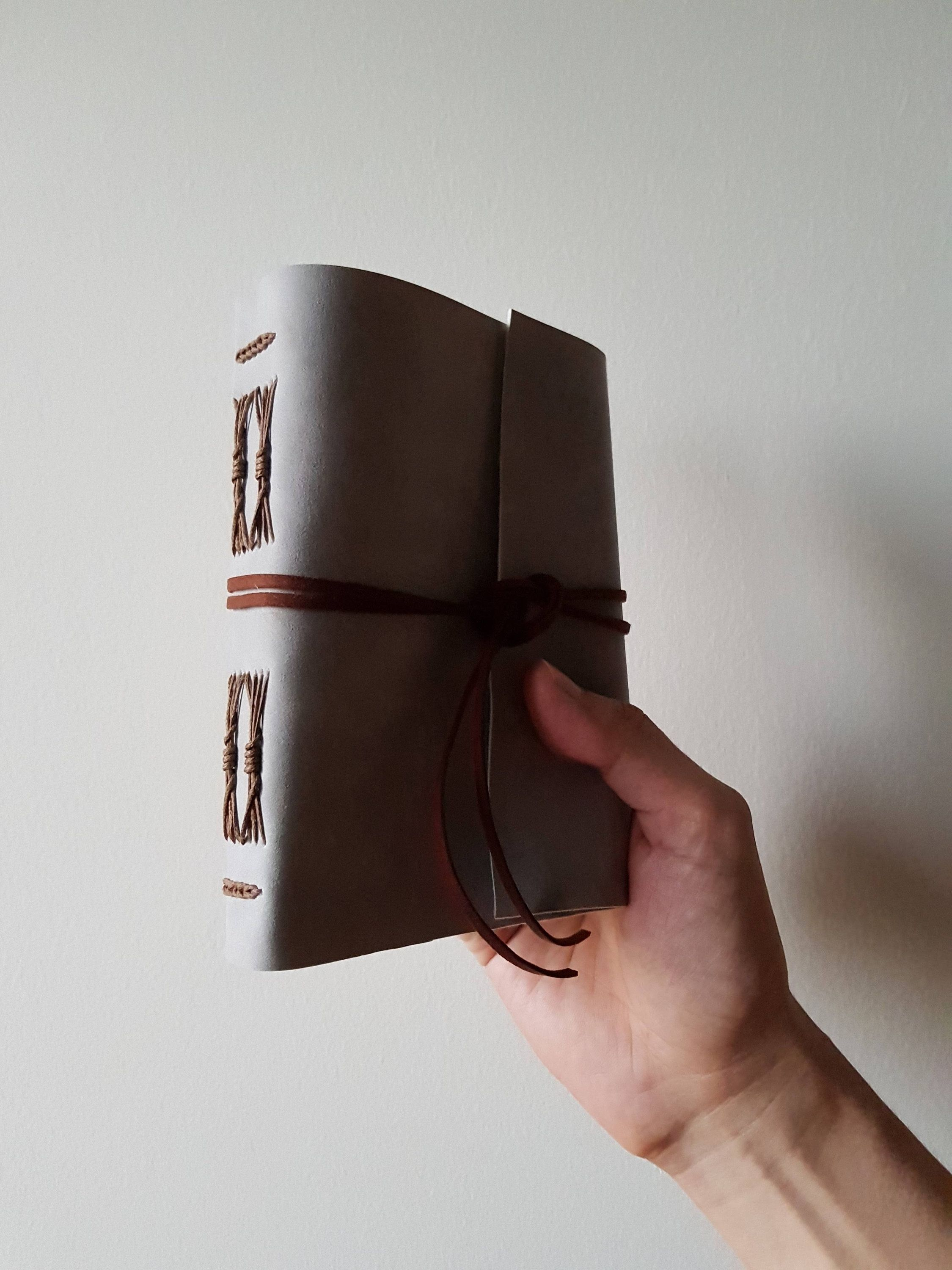 Bespoke Suede Fabric Journal Choose from 10 Suede Fabric