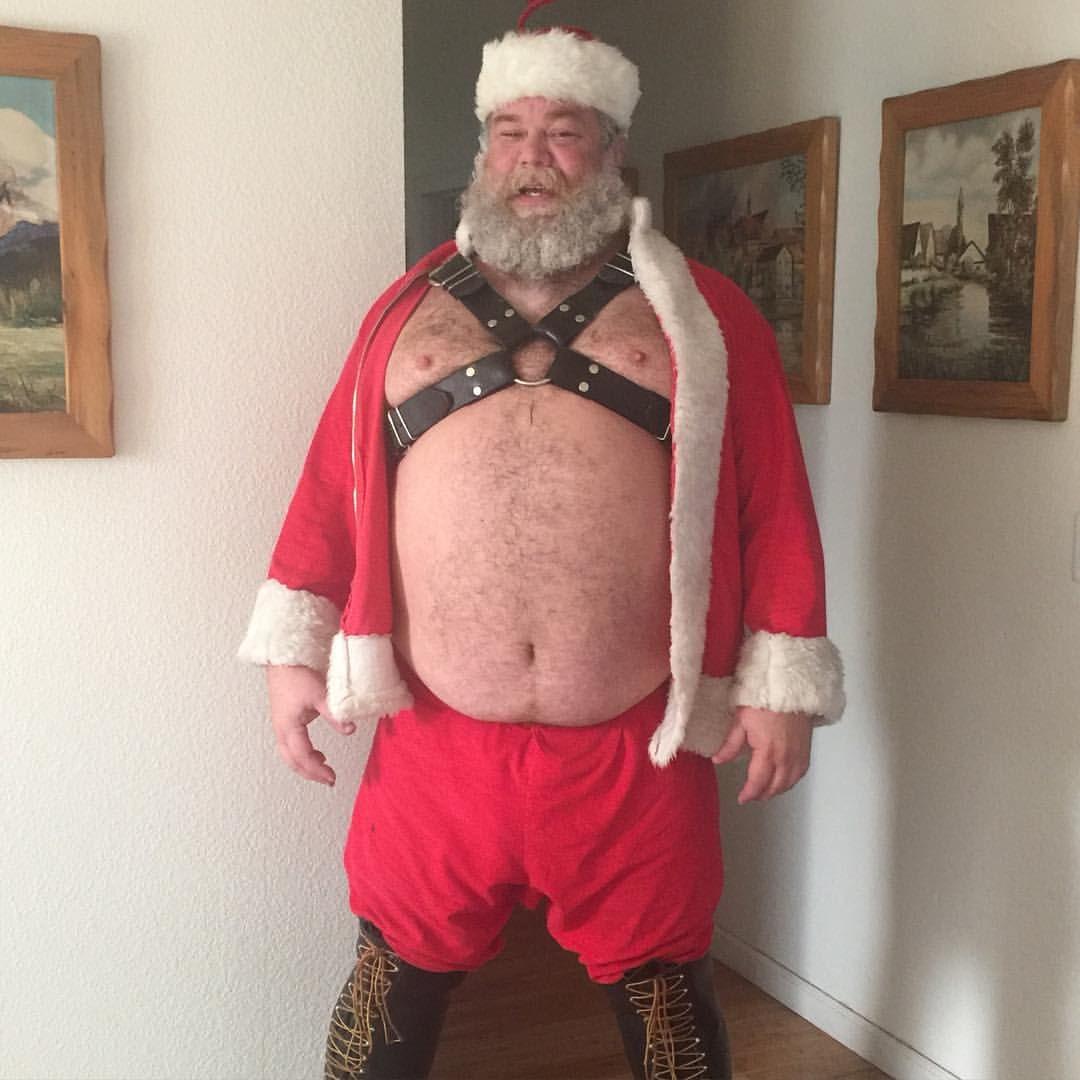 Gay daddy santa