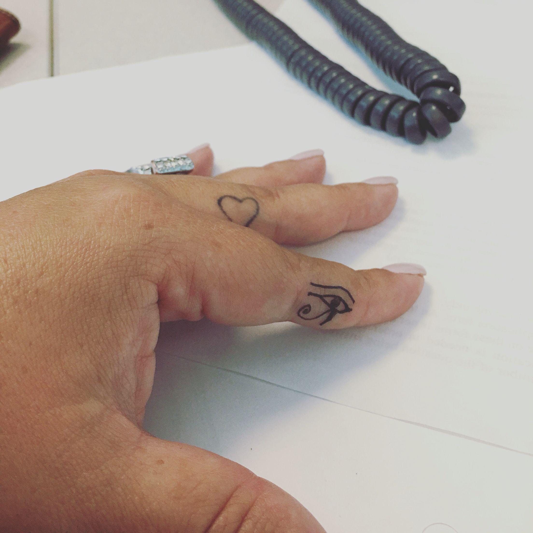 Heart Tattoo Between Thumb Index Finger Lovely Heart Tattoos