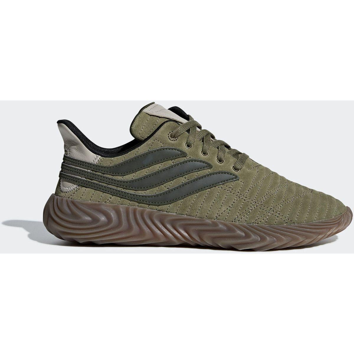 adidas Sobakov Schoenen Lage Sneakers dames. Kleur: Groen
