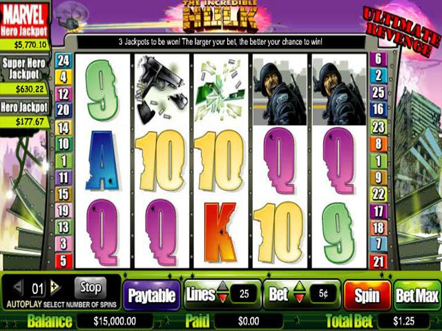 Free Casino Games Hulk