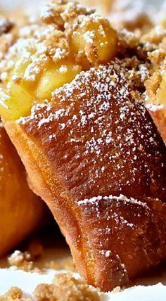 Cinnamon-Apple Beignets ❊