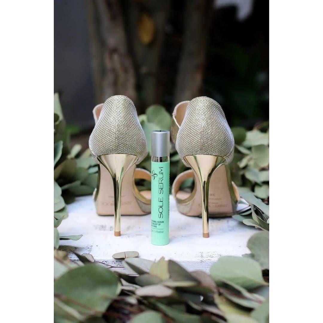 Rock those heelspain-free all day long with @soleserum  lovewc.me/SoleSerum #weddingshoes #heels via @angela4design