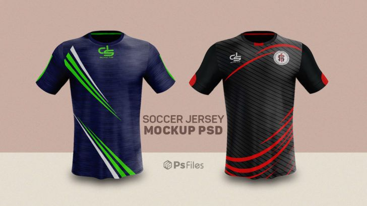 Download Free Soccer Jersey Mockup PSD - PsFiles | Mockup psd ...