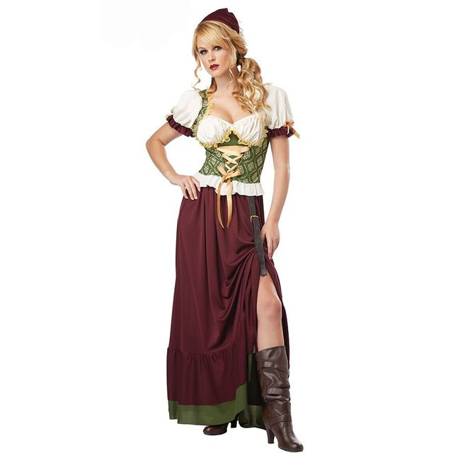 Classic Tavern Maiden Faire Renaissance Women Adult Costume