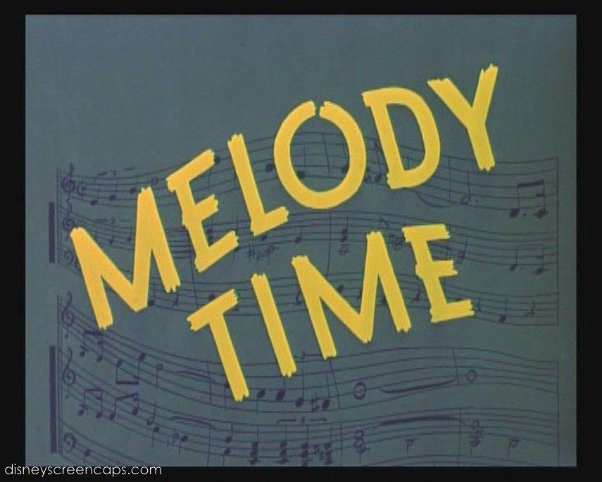 Melody Time 1948 Melody Disney Animated Films Make Mine Music