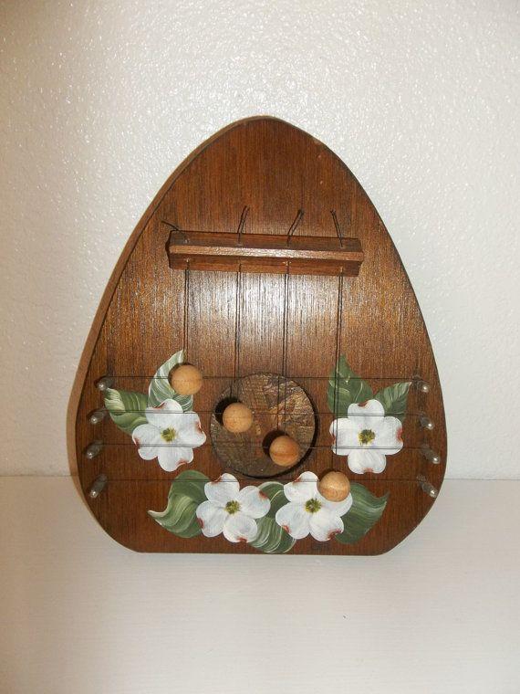 Wooden Door Chime Vintage Door Knocker by ZephyrhillsVintage ...