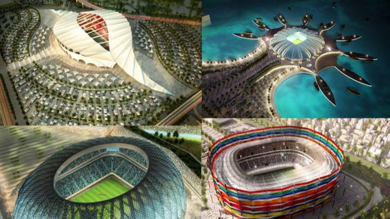World Cup Qatar 2022 Total 14 Football Stadium Sovremennaya Arhitektura Arhitektura