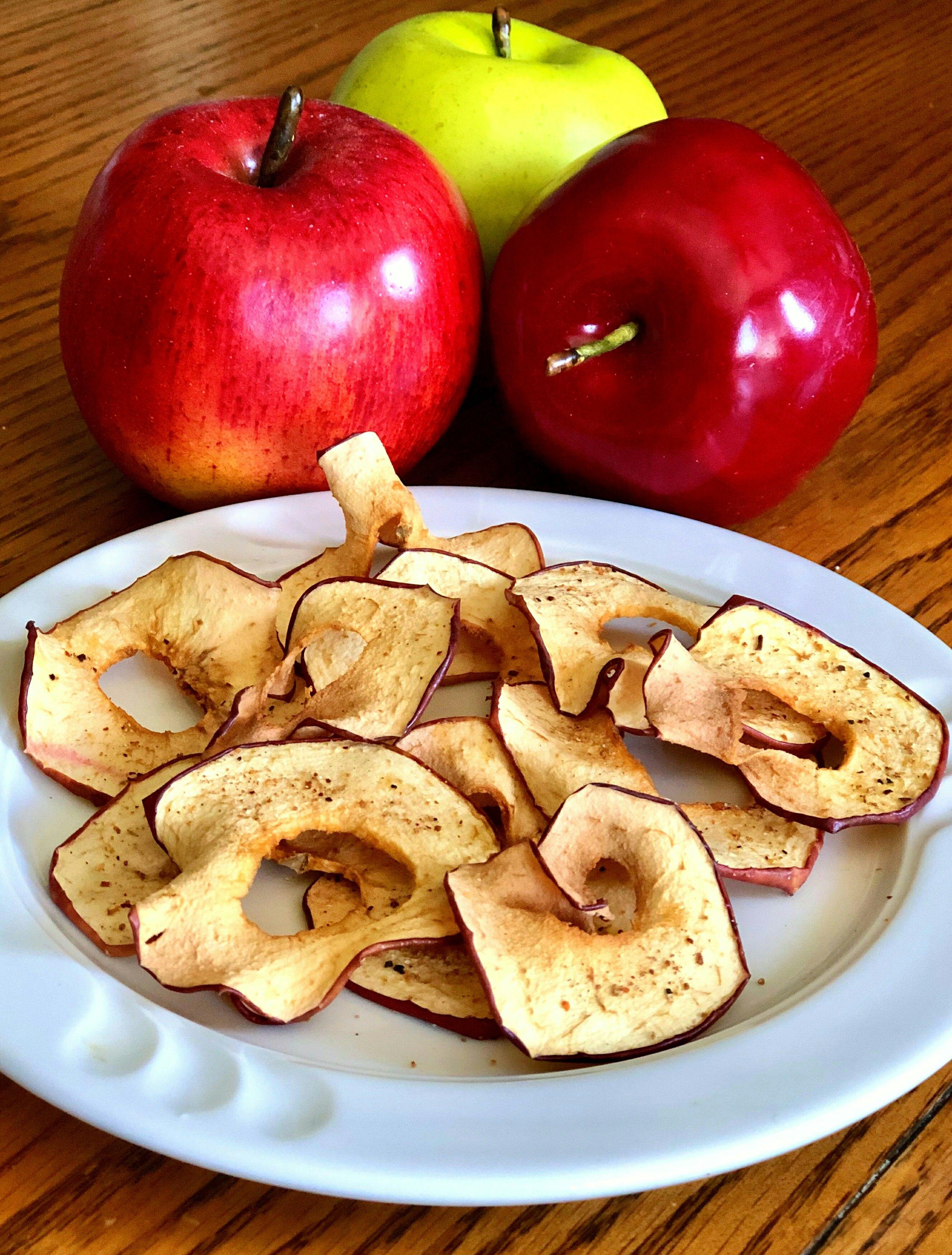 Air Fryer Tajin® Apple Chips Recipe in 2020 Tajin