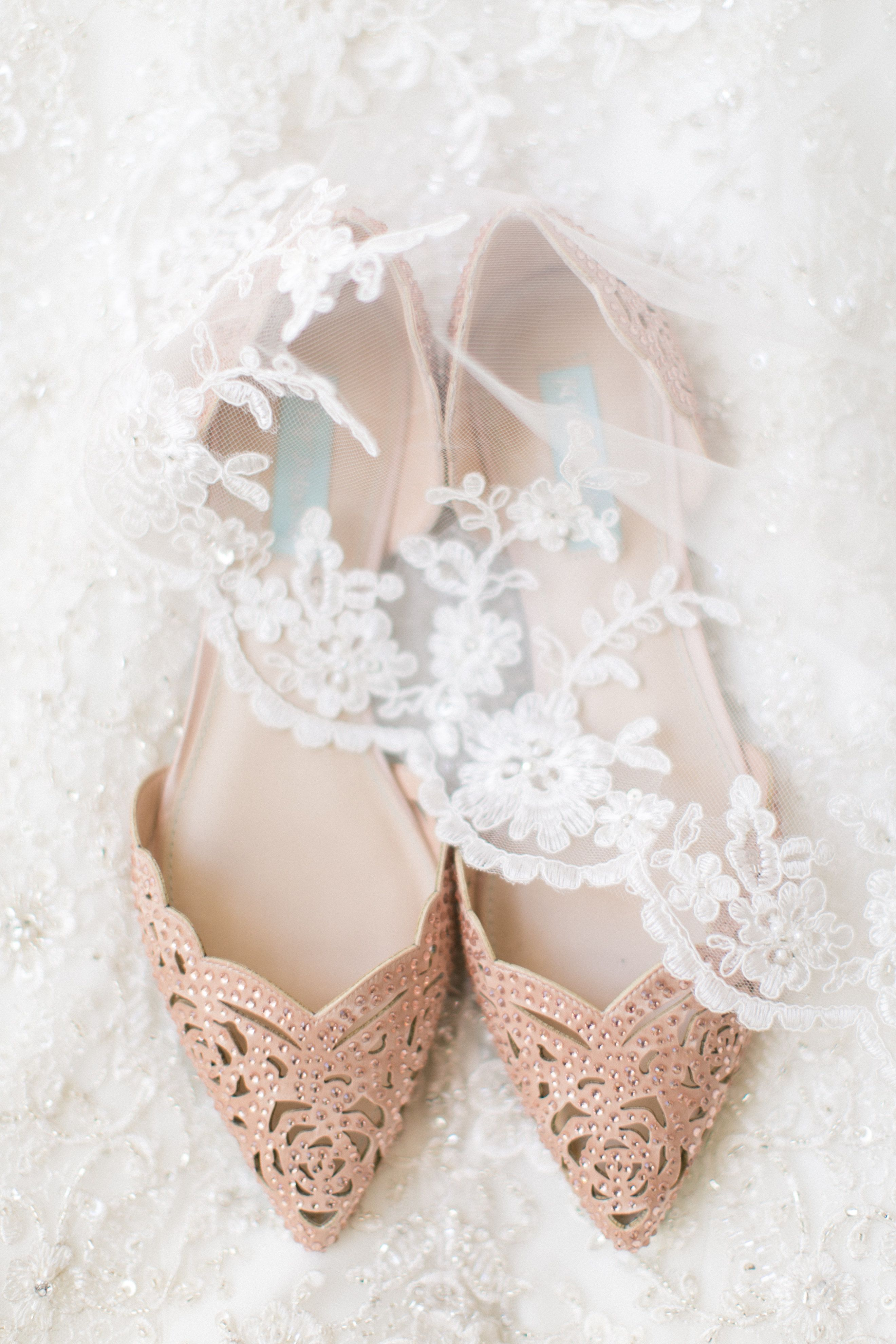 82edfd2823ba Pointed toe embellished flats  Classic Addison Park NJ Wedding  weddingshoes