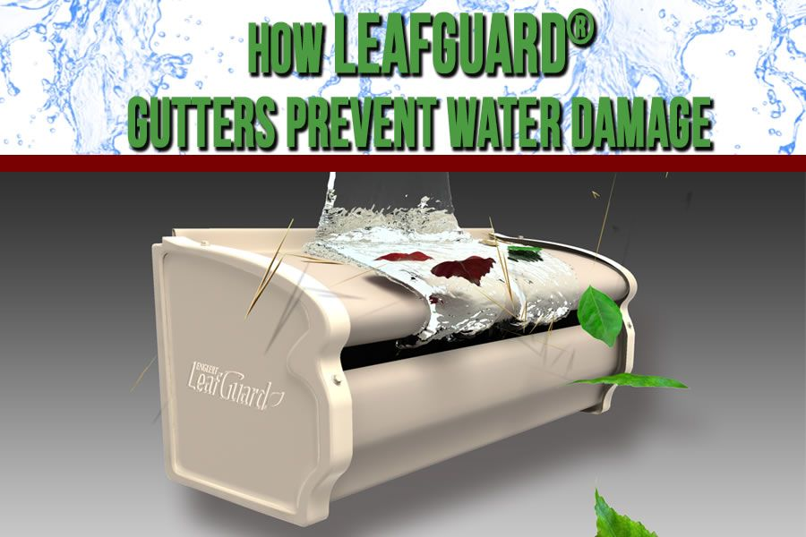 Warped Gutters Look Bad Bring Down The Value Of Your Home So Replace Them With Leafguard Click Here To Water Damage Water Damage Repair Damage Restoration
