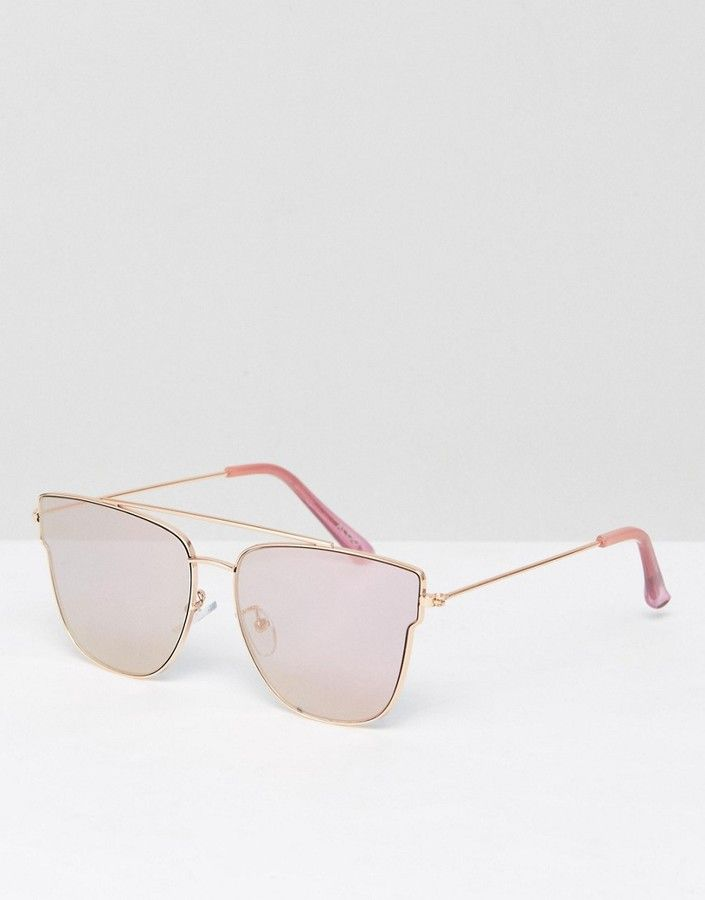 f6e482ae2e2a ALDO Chelirien Rose Gold Mirror Sunglasses | Shop my Closet | Rose ...