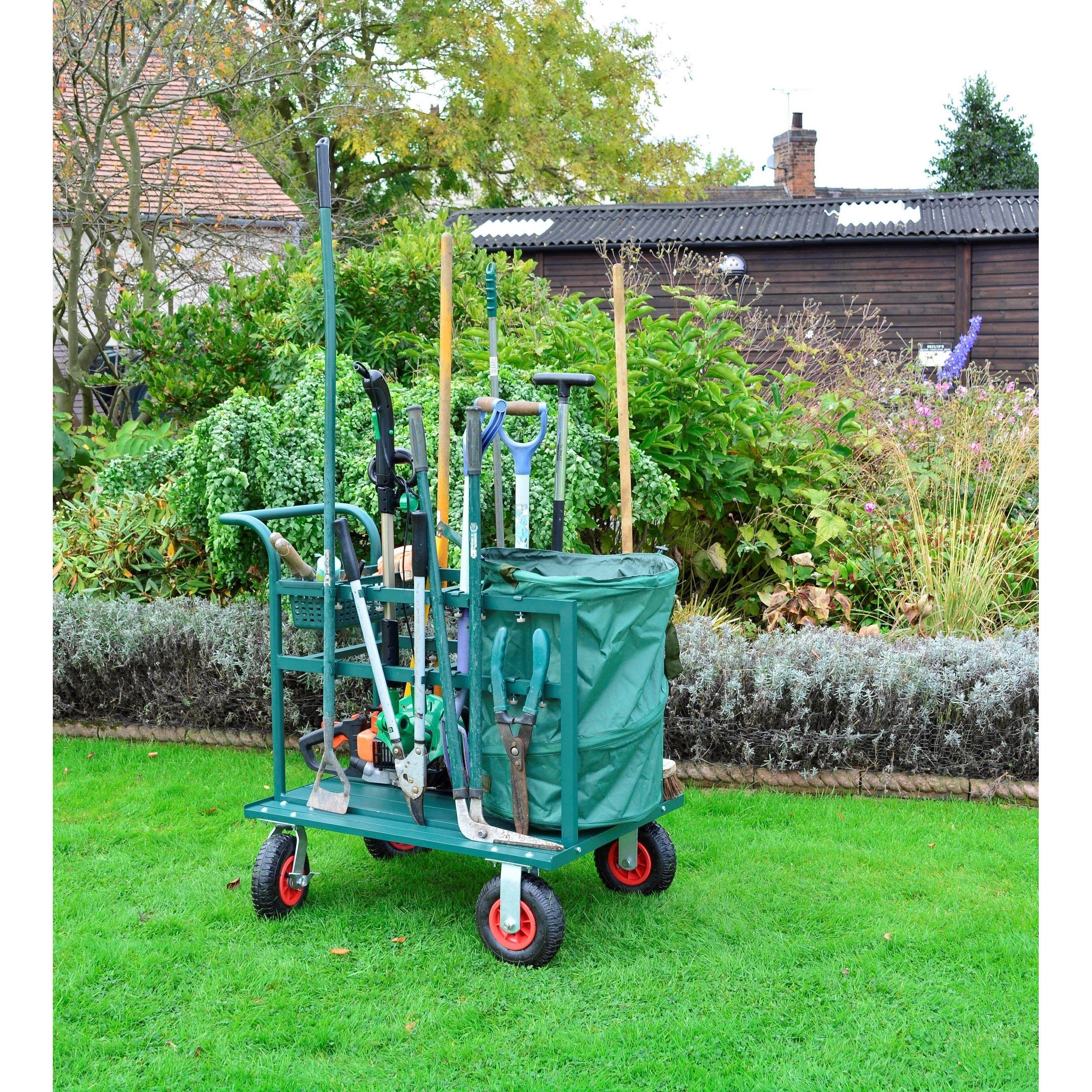 Bosmere Garden Tool Cart Garden Tool Storage Garden Tools