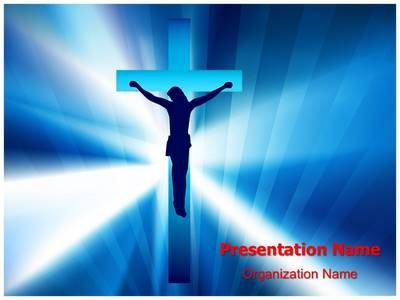 Jesus Cross Powerpoint Template Is One Of The Best Powerpoint