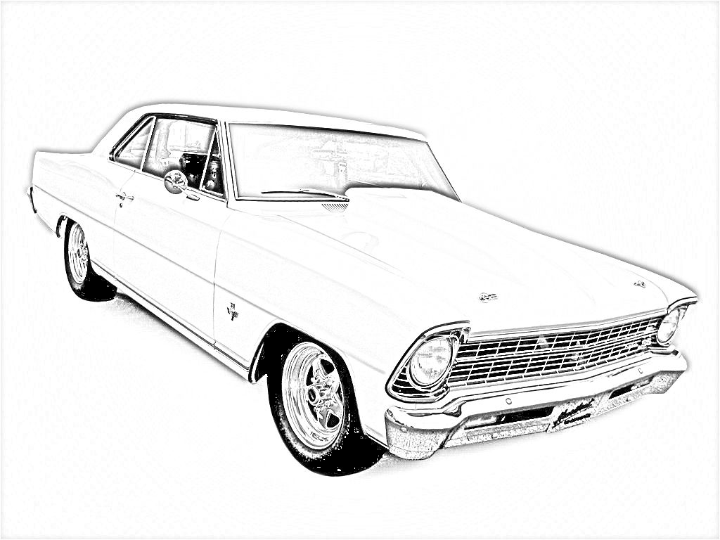 Car coloring games online free - Old Cars Coloring Pages Free Large Images