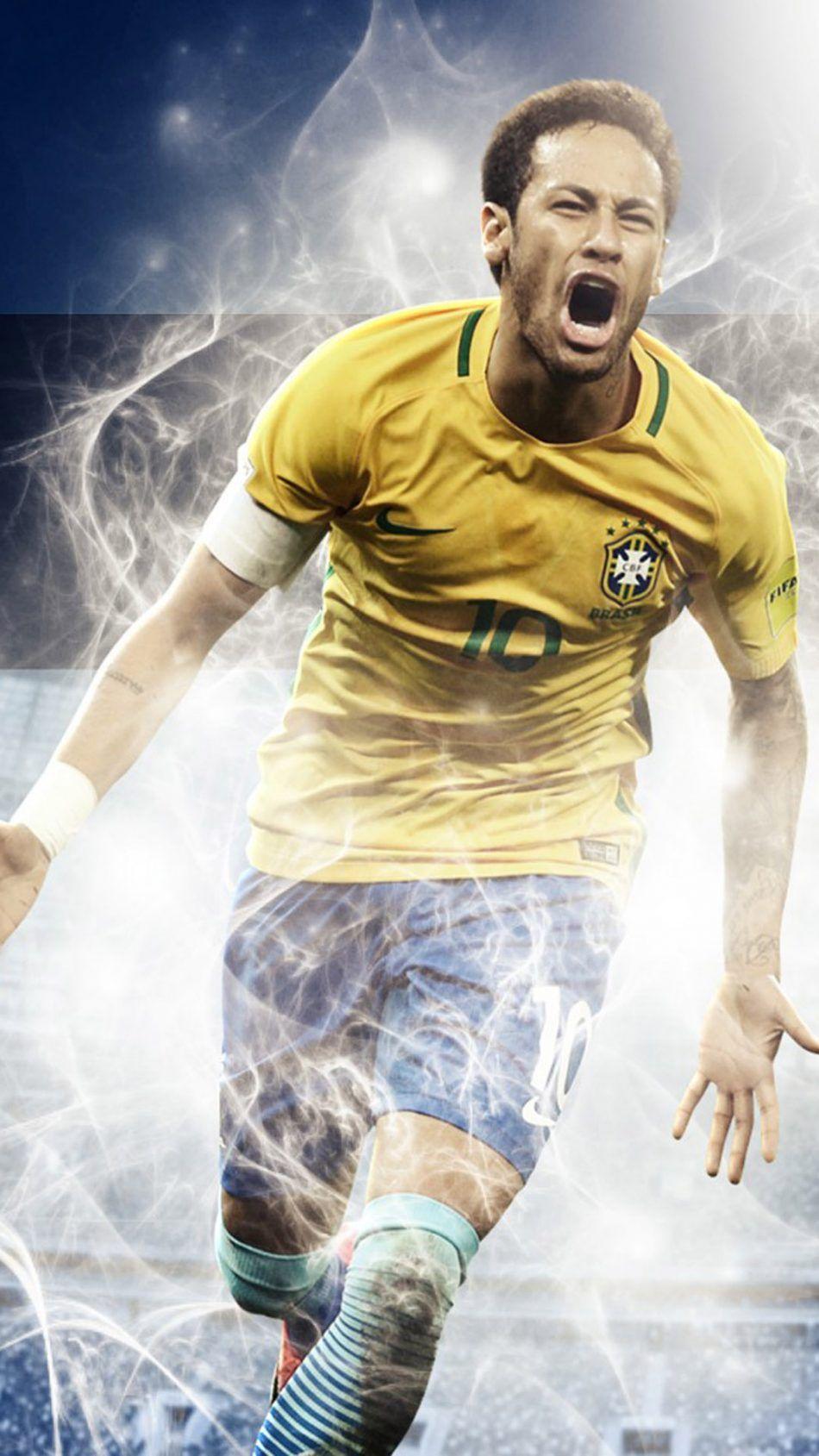 Neymar Brazil Fifa World Cup 2018 4k Ultra Hd Mobile Wallpaper Neymar Brazil Neymar Fifa