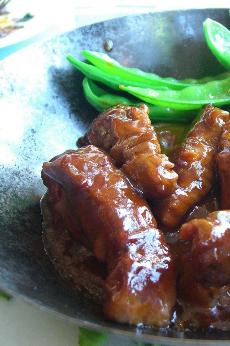 Vegetarian Sticky Beef Chinese Fakeaway Recipe Chinese