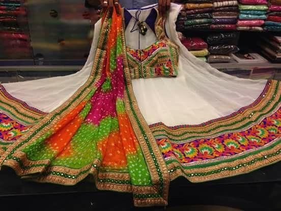 how to wear chaniya choli for garba