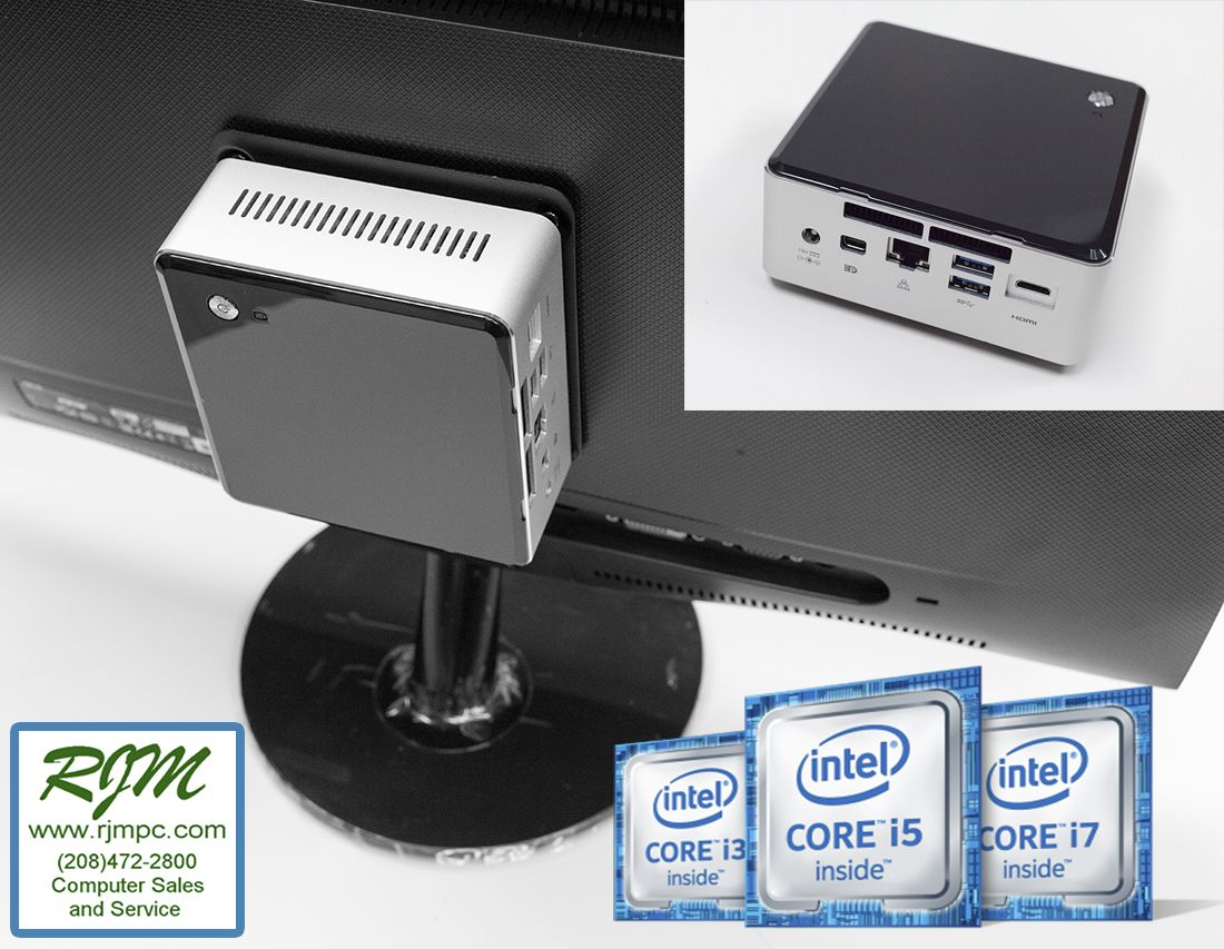 Rjm Computers Boise Desktop Computing Power In The Palm Of Your Hand With Intel 6th Gen Processors And Computer Computers For Sale Laptop Computers