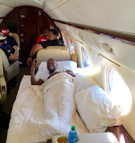 Image result for mayweather jet