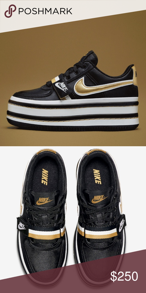 62f118023ed •RARE• NIKE Vandal 2k SOLD OUT!!! A striped platform sole gives a style  boost to a freshly updated remake of a classic 1985 sneaker done here in  lustrous ...