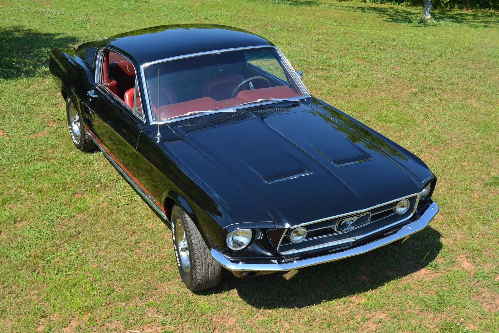 1967 Ford Mustang Gt Fastback With Images Ford Mustang