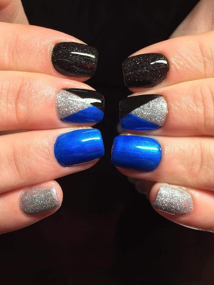 80 Inspiring Holiday Nail Art Ideas that are Just Wow   Holiday nail ...