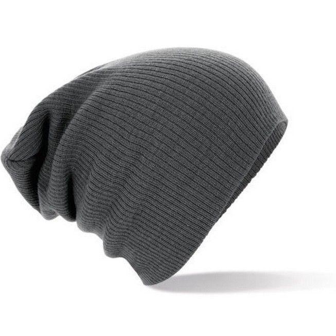 Dámská zimní čepice beanie šedá Na tento produkt se vztahuje nejen zajímavá  sleva ba0a8dded8
