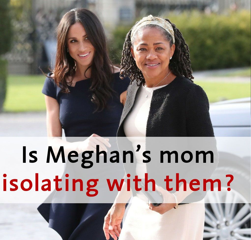 #DuchessMeghan's mom, #DoriaRagland, is thought to be isolating with her daughter, #PrinceHarry and #BabyArchie in Los Angeles. #MeghanMarkle #MeghanandHarry #HarryandMeghan #Sussexes #DukeofSussex #DuchessofSussex #SussexRoyal #Royals #Sussexit #RoyalFamily