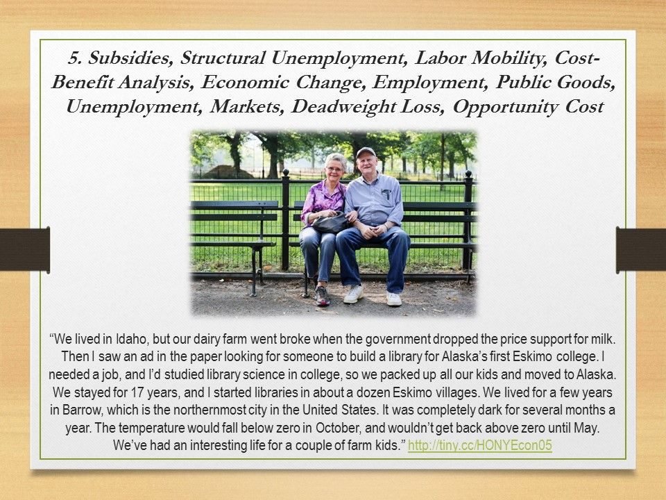 Subsidies Structural Unemployment Labor Mobility CostBenefit