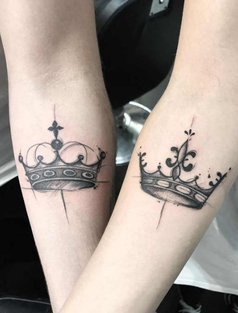 10 Unique Couple Tattoos For All The Lovers Out There!