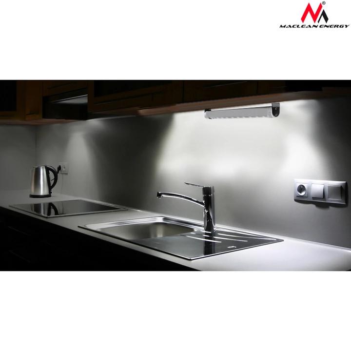 Lampka Kuchenna Podszafkowa 9 Led Czujnik Ruchu Kitchen Appliances Kitchen Espresso Machine