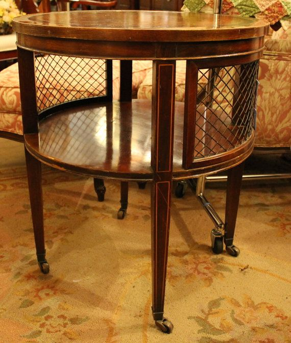 Price shown is for two accent lamp tables by Brandt Furniture of