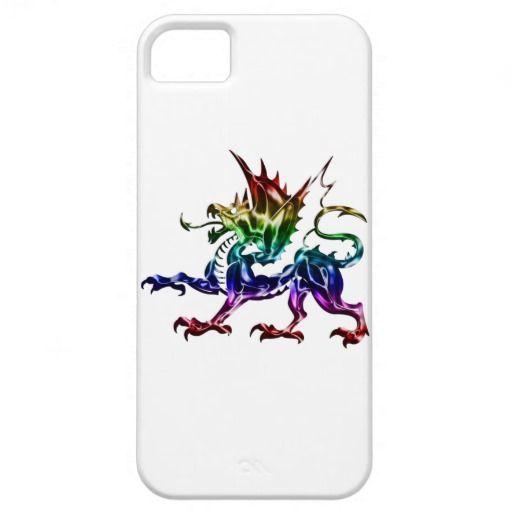 Caso metálico tribal do iPhone 5 do dragão iPhone 5 Capas