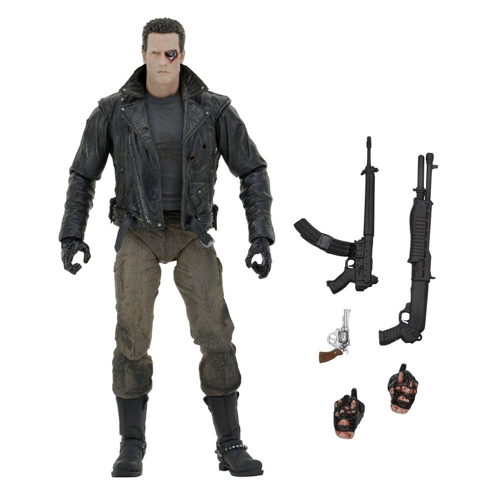 Terminator Ultimate Police Station Assault T-800 Action Figure