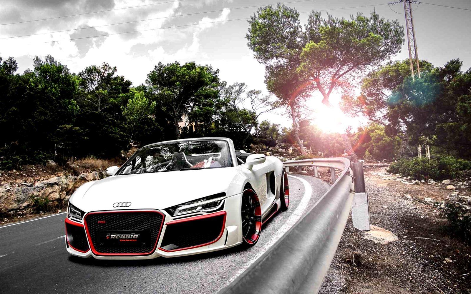 2014 Audi R8 V10 Spyder Regula Tuning Cool Car Wallpapers Audi Cars Audi R8 V10 Audi R8