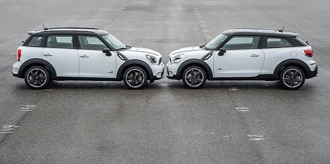 Mini Paceman Vs Countryman Love The On Right
