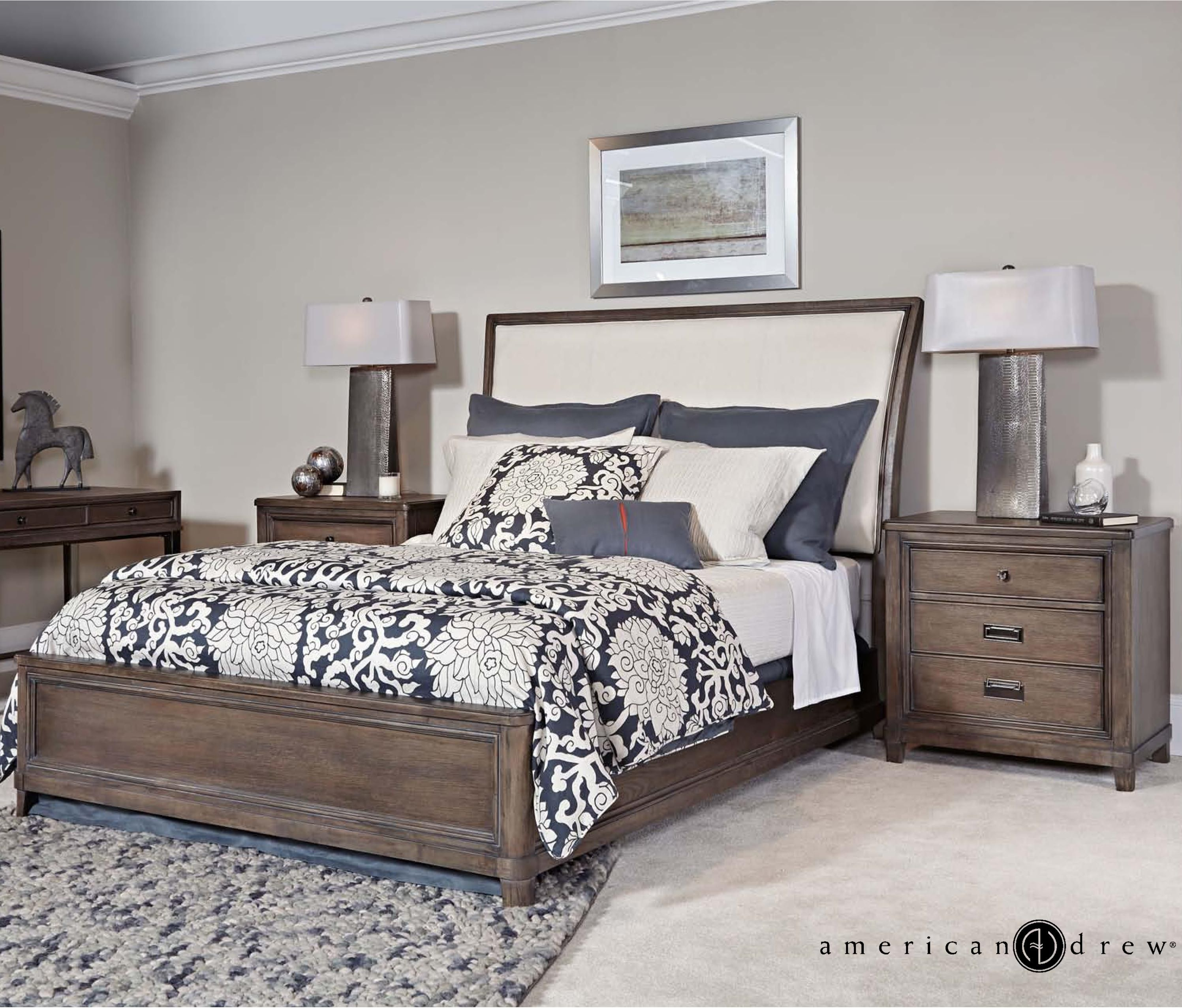 park studio king bedroom group by american drew at hudson s