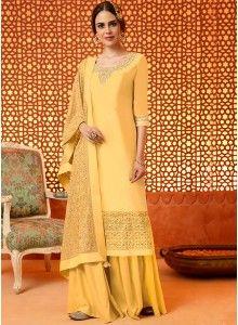 388d3fbf0e5 yellow Salwar kameez