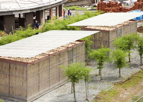 Vietnamese Studio Vo Trong Nghia Architects Plans To Address The Housing Crisis In Vietnam By Introducing Modul Low Cost Housing Natural Building Modular Homes