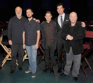 Stand By Me movie -25th anniversary reunion. After all this time... I still miss River Phoenix :(