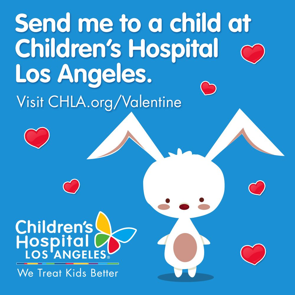 make valentines day extra special for kids at childrens hospital los angeles send a special