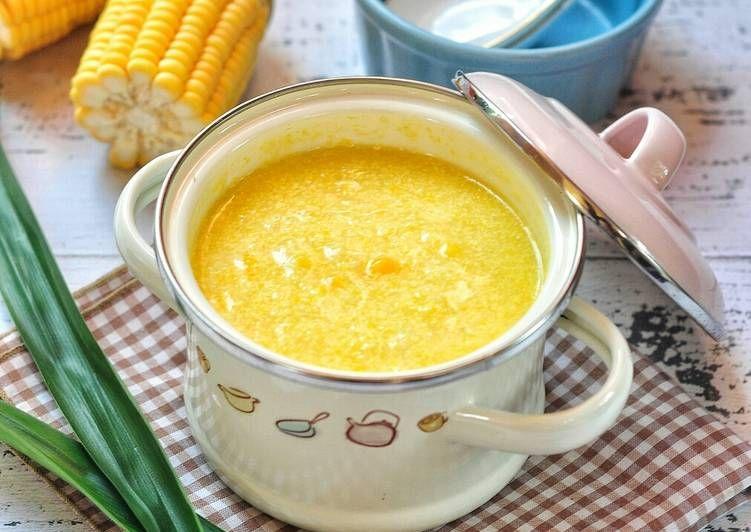 Resep Bubur Jagung Manis Oleh Hanhanny Resep Resep Makanan Makanan Dan Minuman
