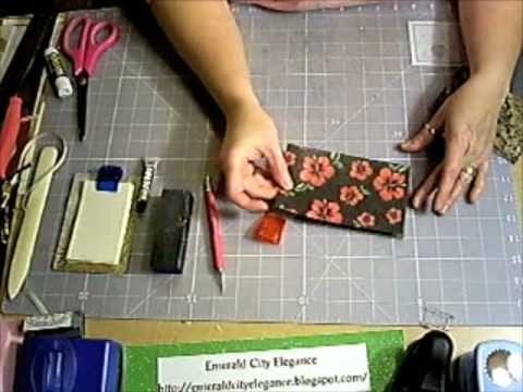 Laminate Sample Mini Clipboard