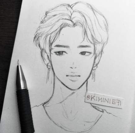 39 Ideas For Drawing Challenge Bts Bts Drawings Kpop Drawings Drawing Challenge