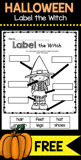 October Math and Literacy Pack - FREEBIES | K Halloween | Pinterest ...