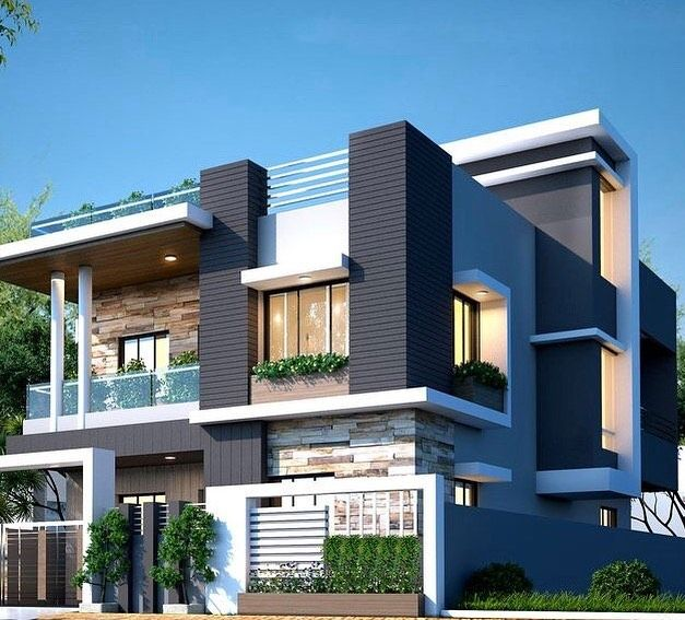 Indian Home Exterior Design Pictures: 999 Best Exterior Design Ideas #exterior #homedecor In