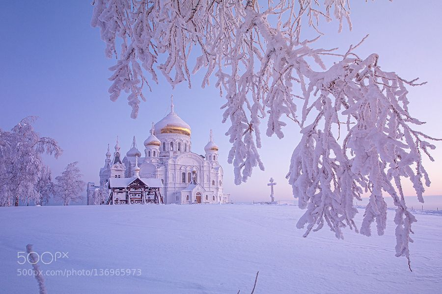 Belogorsky Monastery by PolTergejst. Please Like http://fb.me/go4photos and Follow @go4fotos Thank You. :-)