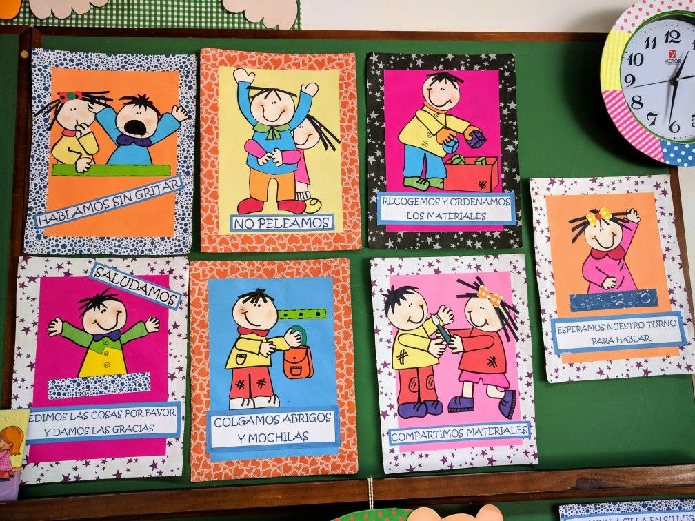Normas De Convivencia Para El Jardín Actividades Para Niños Preescolar Normas De Convivencia Jardin De Infantes
