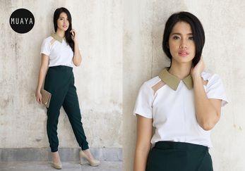 GARLAND WHITE TOP - muaya clothing - #fashion #womensfashion #womenswear